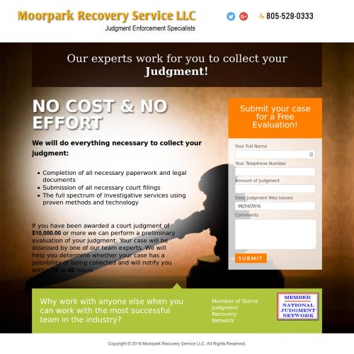 Moorpark Recovery Service LLC